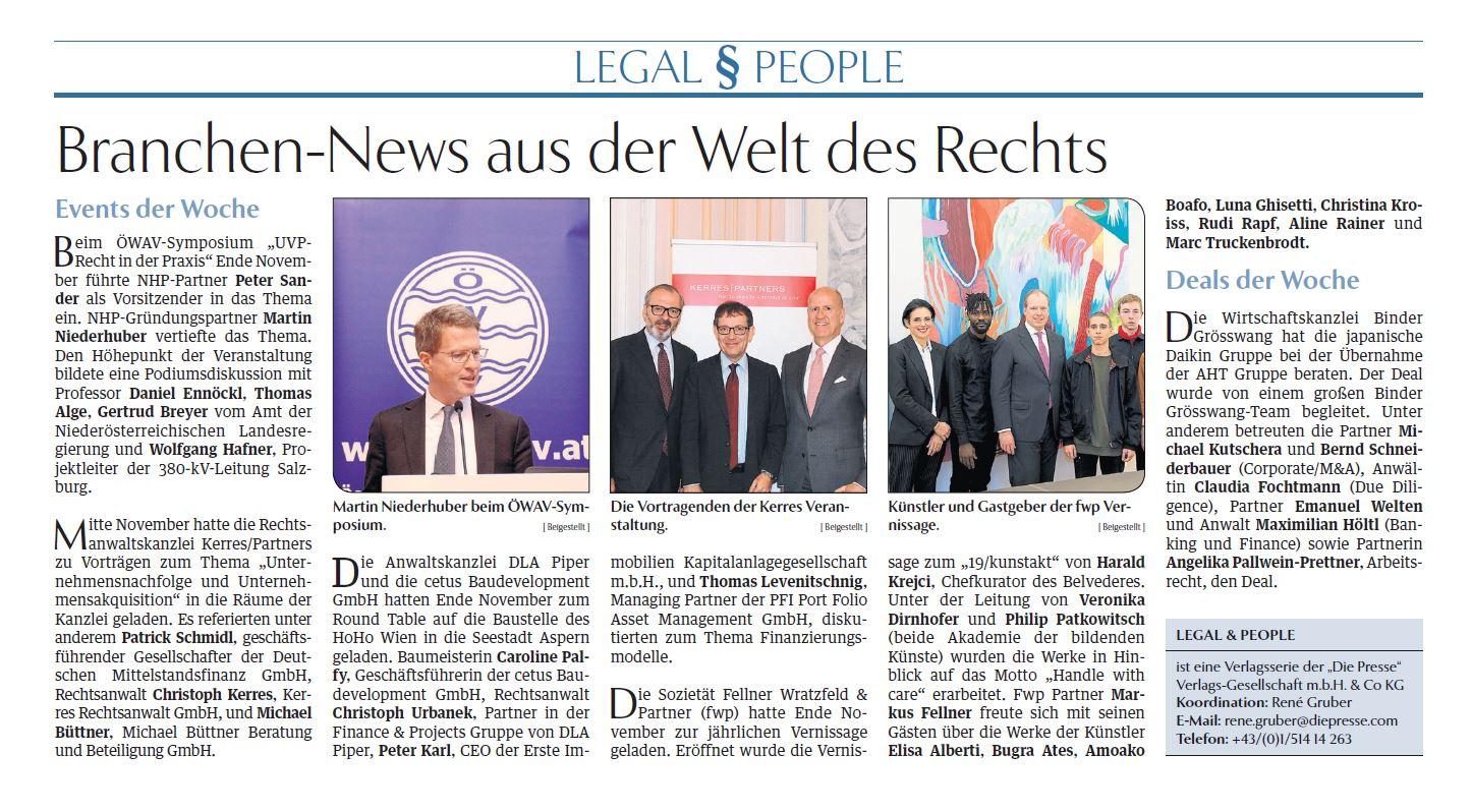 Die Presse 3.12.2018