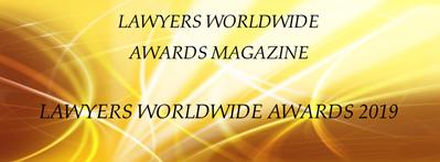 Lawyers Worldwide Awards Magaine 2019