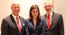 Dr Christoph Kerres, Mag Danai Budas, MA & Botschafter MMag Gregor Schusterschitz
