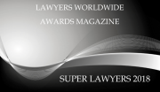 Lawyers Worldwide Awards Super Lawyers 2018